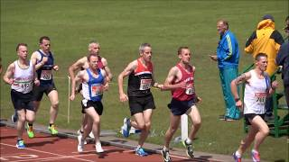 2017 Munster T & F Championships 3000m Master Men...Video by Jerry Walsh
