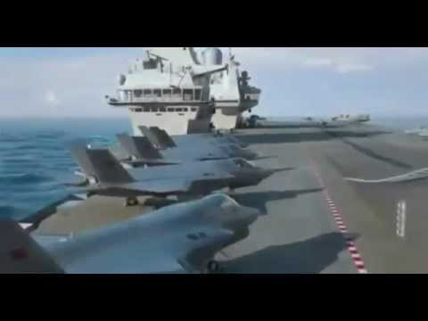 Royal Navy Queen Elizabeth Class Aircraft Carrier