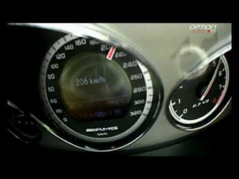 256 km/h en Mercedes C63 AMG (Option Auto)