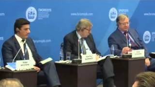 Выступление Сергея Степашина на Петербургском международном экономическом форуме 2015