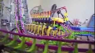 knex coaster LEECH final vid (7th big coaster)