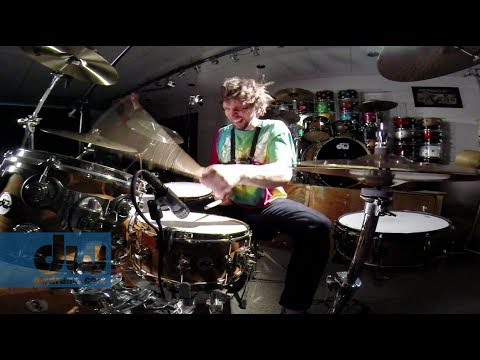 Marco Minnemann plays DW Drums (100% GoPro) klip izle