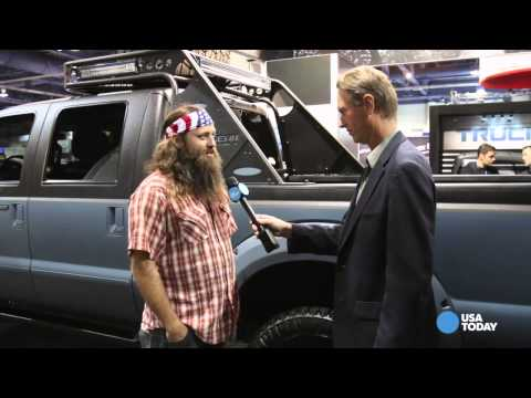 Willie Robertson at the 2014 SEMA Show