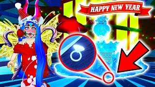 I GOT A DIAMOND RING!!💍NEW YEARS IN ROYALE HIGH!💎👑 | Roblox Royale High School UPDATE