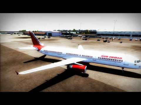 AIR INDIA TAKEOFF FROM MALE | FSX 2014