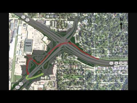 This narrated drive-through simulation video shows the final look and configuration of Verona Road (US 18/151), between the Beltline and Raymond Road in Madi...