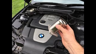 Installing an EGR Delete to the BMW daily 320D