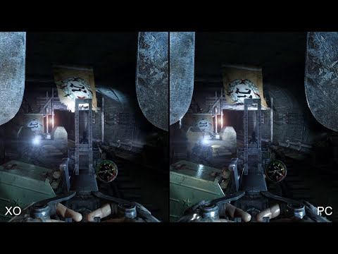 Metro 2033 Redux: Xbox One vs PC Comparison