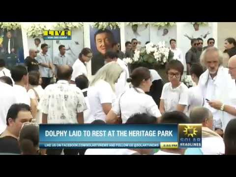 07152012 Solar News Coverage: Dolphy Quizon burial rites
