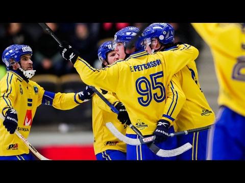 ЧМ-2017 по хоккею с мячом 5.2.✾ФИНАЛ✾ОБЗОР МАТЧА✾«Швеция»-«Россия»4:3(1:3)