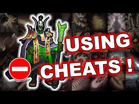 Dota 2 Cheater - Rubick using Auto Ultimate Spell Steal!