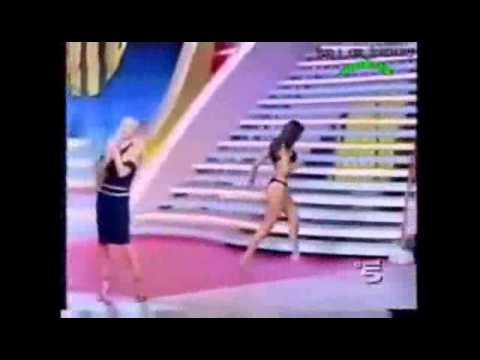Model Catwalk Video Model Dress Comes Off Video