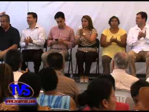 TVS Noticias.- Inauguración De Obras De Drenaje Y Red De Agua Potable En Veracruz