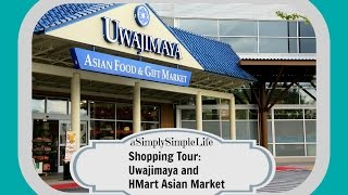 Shopping Tour: Uwajimaya and HMart Asian Market - aSimplySimpleLife