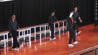 マイケルジャクソン踊ってみた。~中学文化祭~の動画