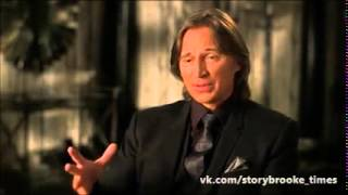Emilie de Ravin and Robert Carlyle about Once upon a time