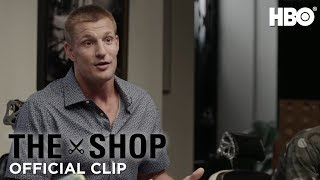 The Shop: UNINTERRUPTED | Gronk on Stopping Football and Partying (Season 2 Episode 3 Clip) | HBO