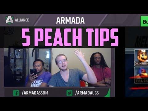 Armada's 5 Tips for Peach Players - SSBM