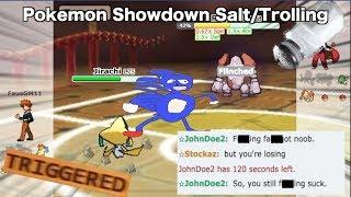 Pokemon Showdown Salt/Trolling COMPILATION #11