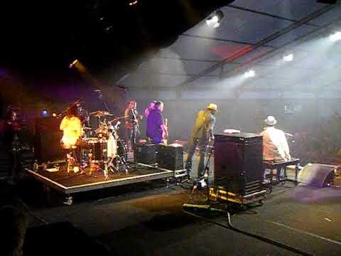 Booker T with David Hidalgo (Los Lobos) at Cambridge folk festival 2009