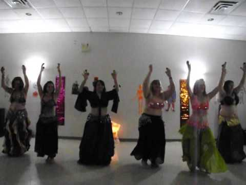 Hips That Go Bump In The Night 2014   Sandra LiLi's Belly Dance   Unveiled & Wet Naima