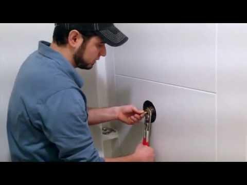 How to change Symmons Temptrol or Allura TA-10 shower valve cartridge