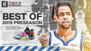 D'Angelo Russell WARRIORS DEBUT! BEST Highlights & Plays from 2019 NBA Preseason!