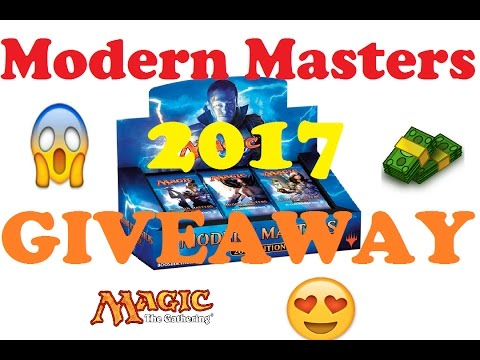 Modern Masters 2017 GIVEAWAY!!!!!!!
