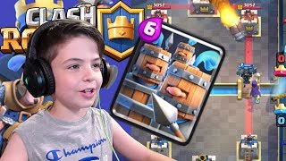 ROYAL RECRUITS NEW CARD - 1V1 BATTLE IN ARENA