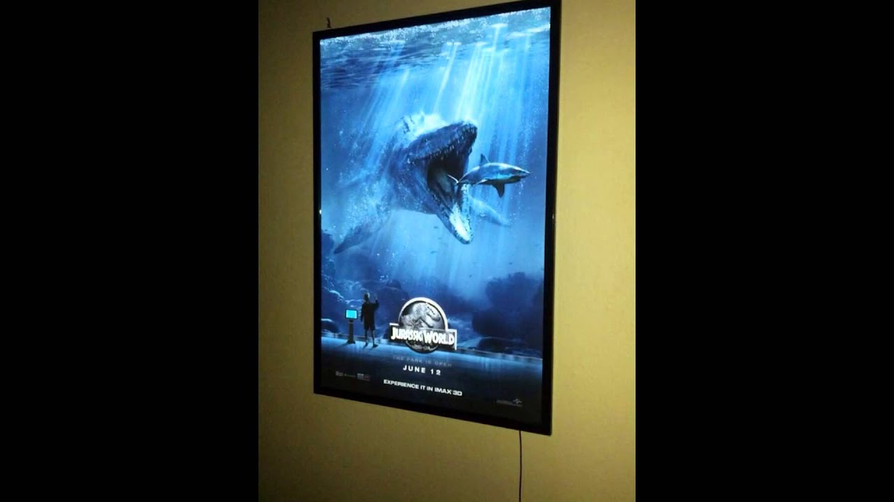 Led movie poster frame