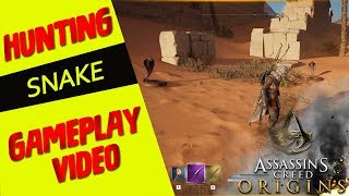 Bayek The Snake Hunter   Assassins Creed Origins Snake Hunting Games   Assassins Creed PC