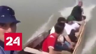 В Ираке столкнулись две лодки - Россия 24