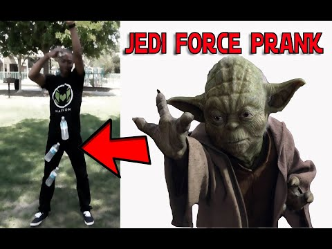 SUPERNATURAL JEDI FORCE PRANK HOW TO PRANK with MoloNation