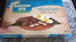 Mauna Loa Mountains Milk Chocolate Covered Macadamia Nuts