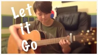 Let It Go - Frozen - Disney Movie Soundtrack - Fingerstyle Guitar Cover - Tabs