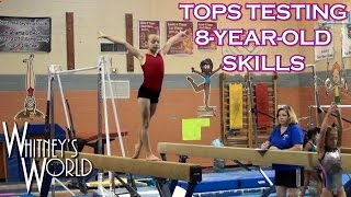 TOPS Skills Testing | 8-Year-Old Whitney Bjerken
