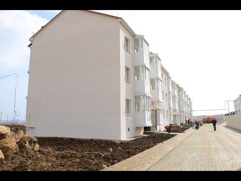 Дома для переселенцев из санитарной зоны Керченского моста готовы к сдаче