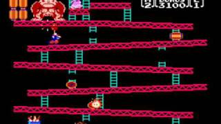 Donkey Kong (Original) Full Playthrough (US NES Version)
