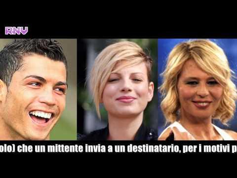 C'è posta per te – Maria de Filippi – 27-10-2012 – Ospiti Emma e Ronaldo – Anticipazioni puntata