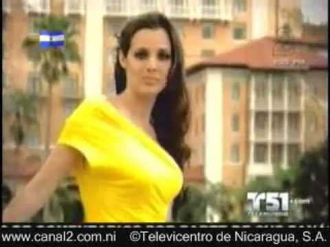 Adriana Dorn, Miss Nicaragua 2011 en una breve capsula de telemundo