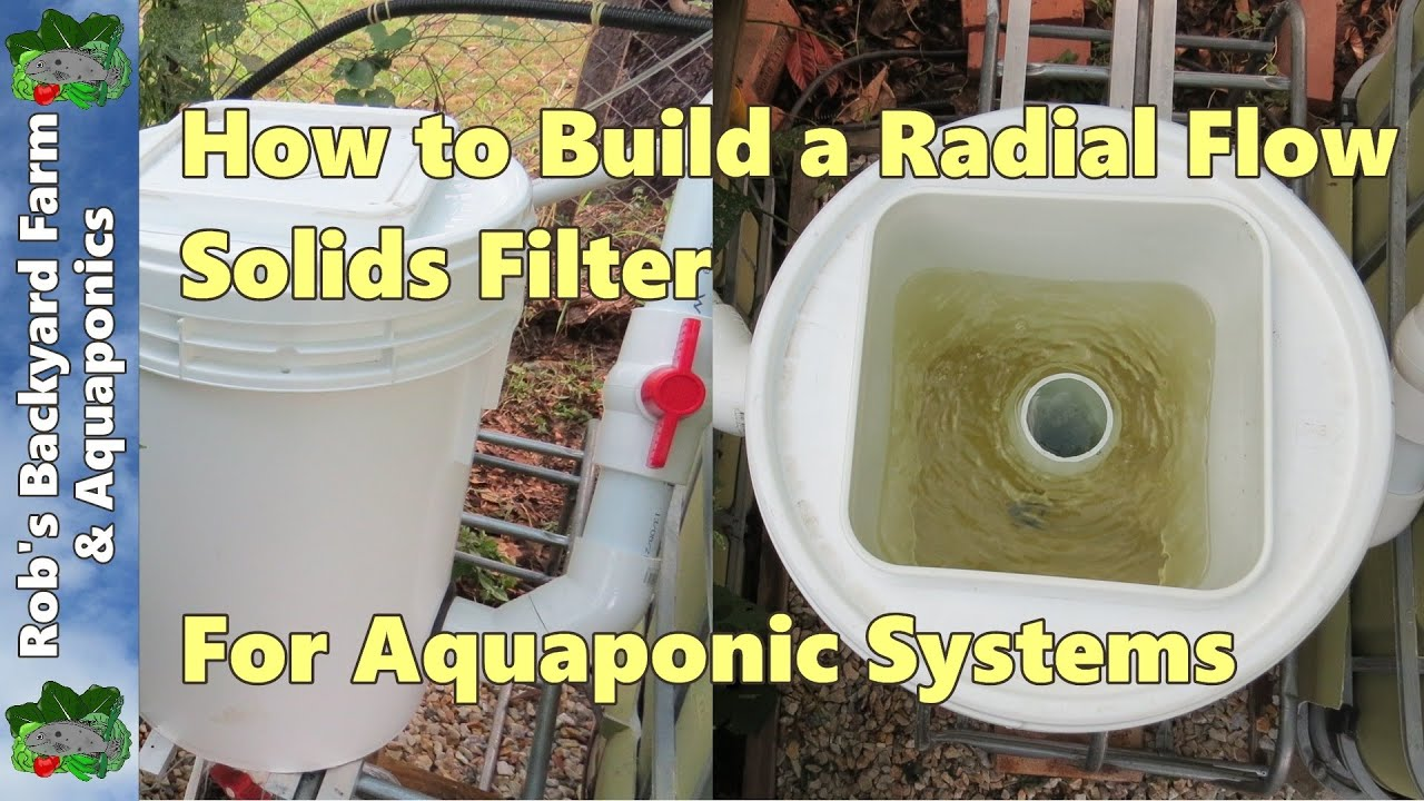 Aquaponics filter system aquaponics free engine image for Aquaponics filter