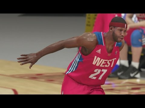 NBA 2K14 PS4 My Career - The All-Star Game!