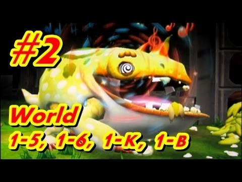 Let's Play Donkey Kong Country Returns 100% - Part 2 World 1-5, 1-6, 1-K, 1-B