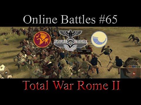 Total War Rome II - #65 Online Battle - Suebi vs Nervii   Domination Tourny Battle 2