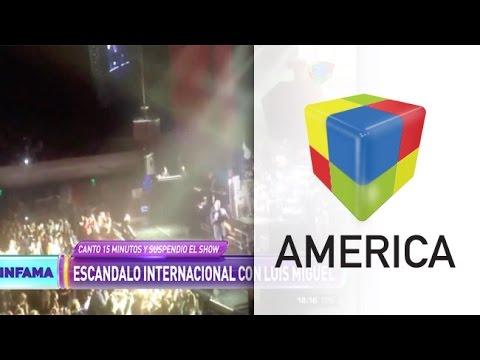 El papelón de Luis Miguel en un concierto en México