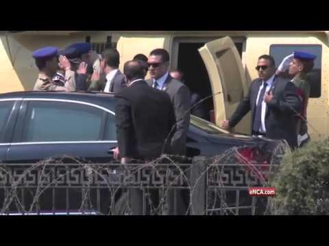 Egypt's al-Sisi sworn in as president