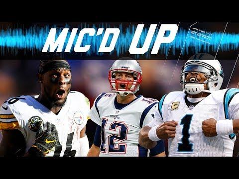 Best Mic'd Up Sounds of the 2017 Season: Trash-Talk, Fails, Celebrations, & More! | NFL Sound FX