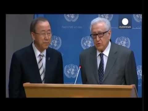 UN Syria envoy Lakhdar Brahimi resigns