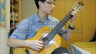 Greensleeves - classical guitar & violin duet