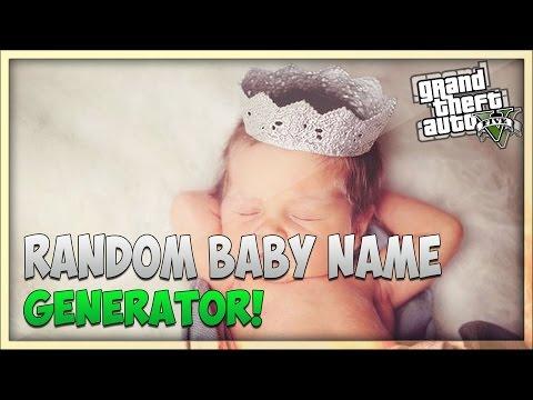 Gta Online Crew Names Gta 5 Online Random Baby Name